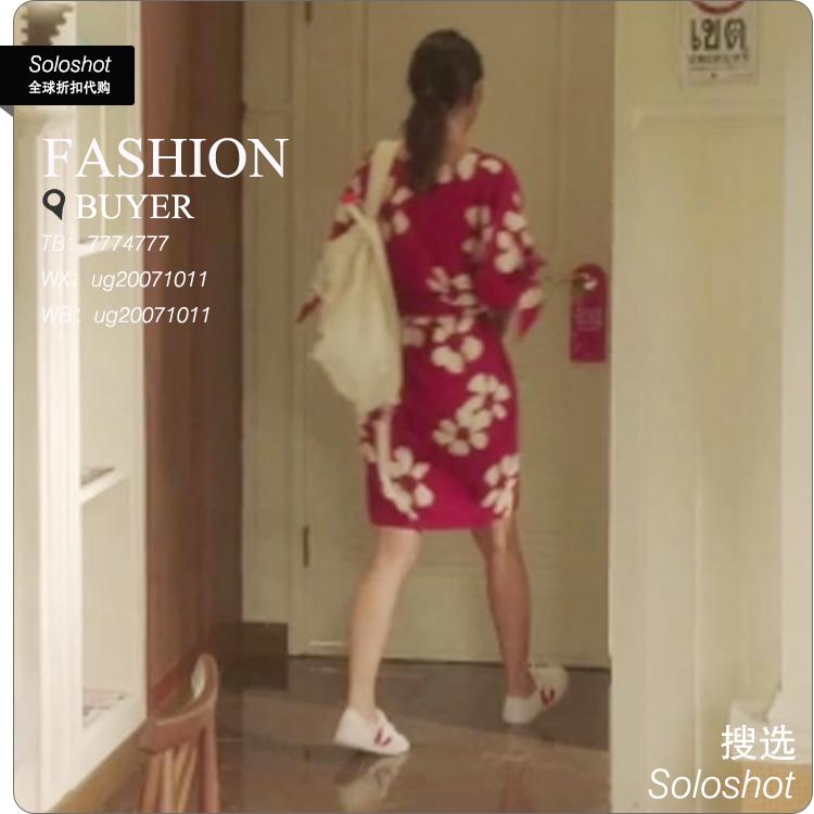 韩剧嫉妒的化身孔孝真娜丽同款平底布鞋 品牌为法国veja