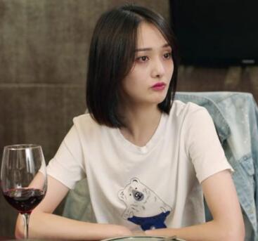 青春斗郑爽明星同款新款短袖情侣服简约小飞象T恤