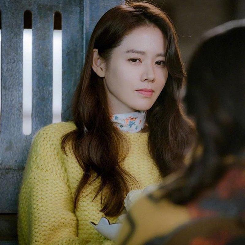 爱的迫降孙艺珍尹世利同款黄色韩版早春甜美套头毛衣针织衫