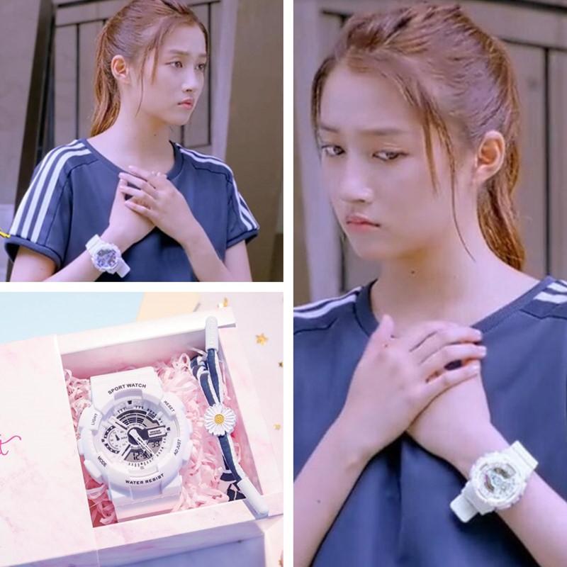 二十不惑罗艳梁爽同款电子手表
