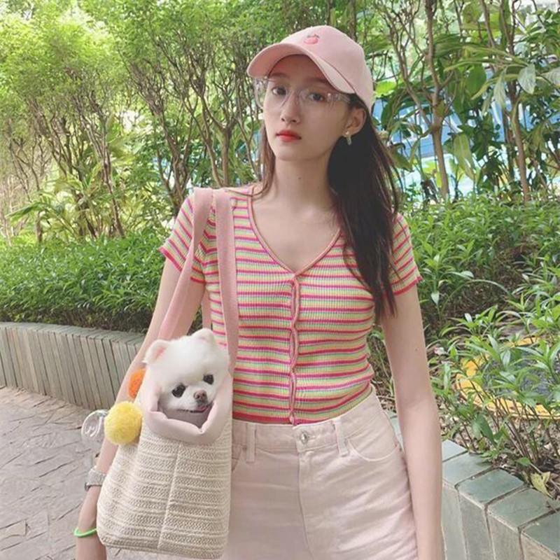 二十不惑关晓彤同款可爱粉色桃子棒球帽